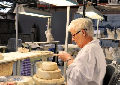 Delft Porcelain Making